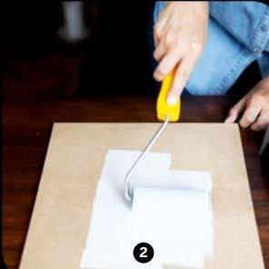 Créez votre propre ardoise menu avec de la peinture tableau