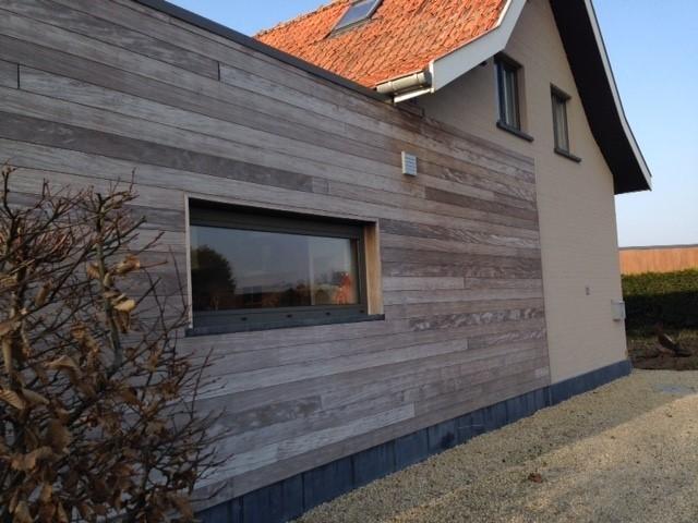 une maison en bois