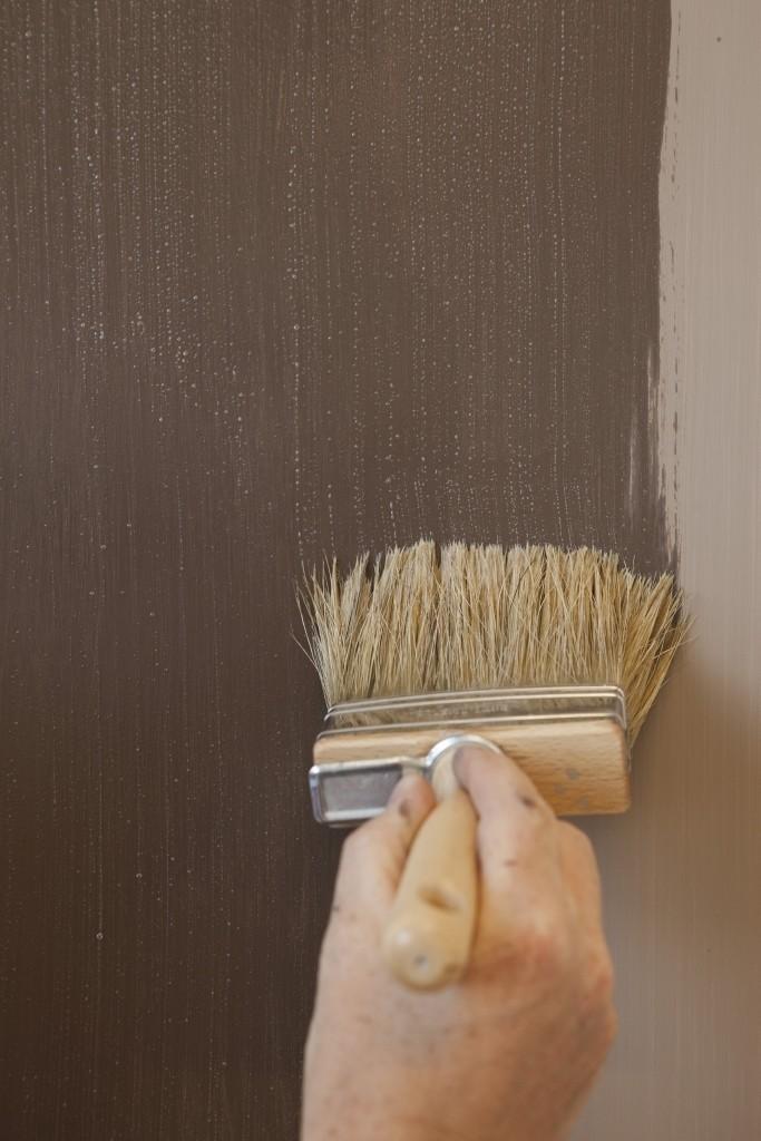 techniques décoratives en peinture Limestone Spatula