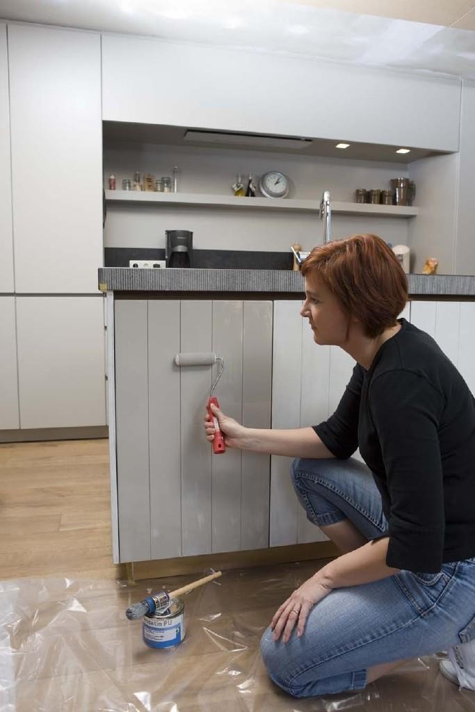 Peindre les armoires de cuisine
