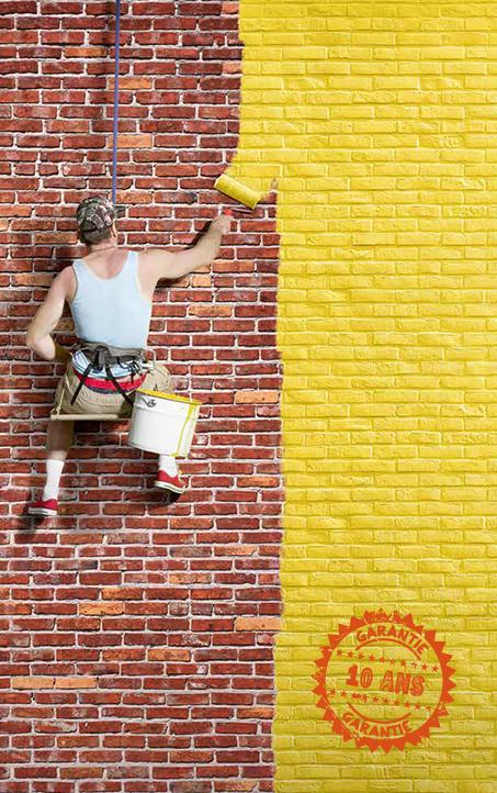Peindre murs extérieurs