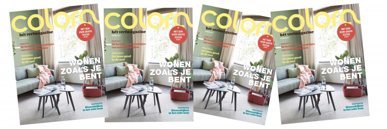 het nieuwe colora-magazine editie juni 2017 is er