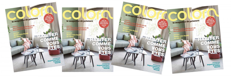 le magazine colora de juin 2017 est sorti