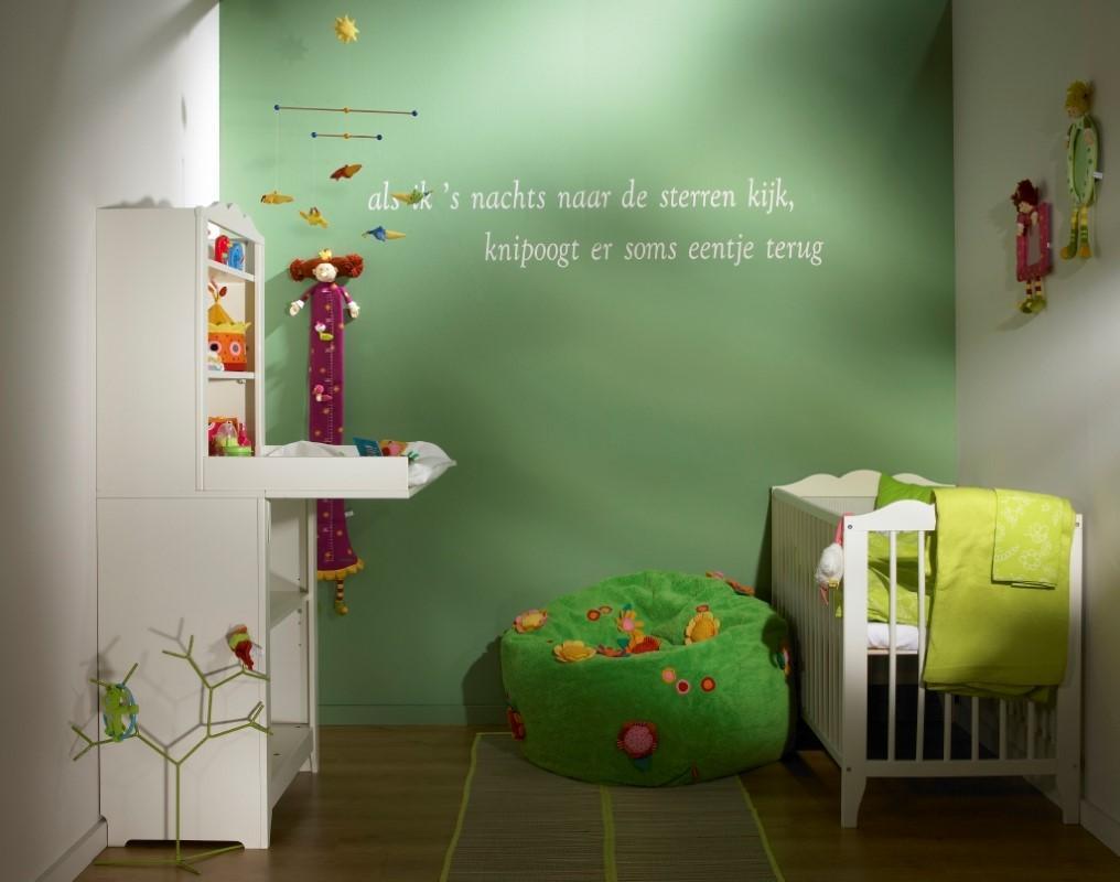 Peindre la chambre d'enfant