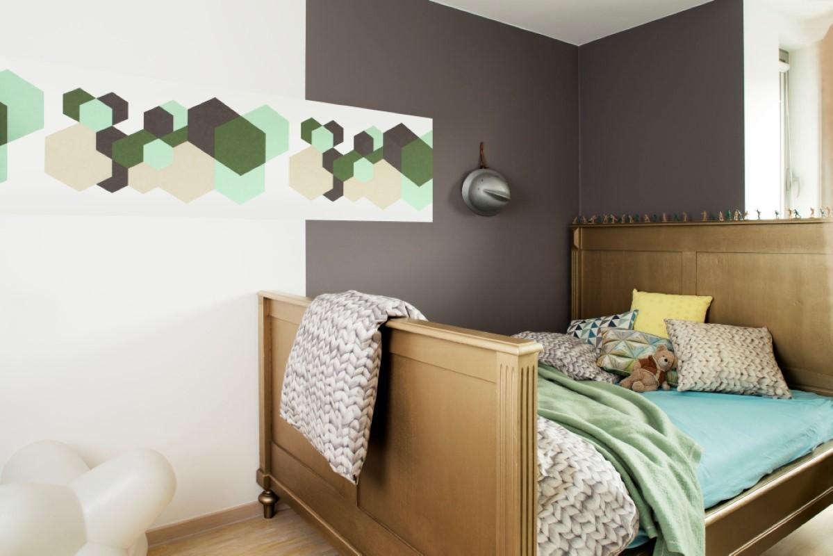 Slaapkamer behangen