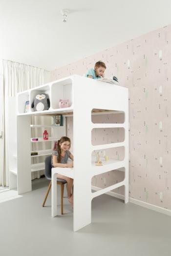 Peindre le chambre des enfants