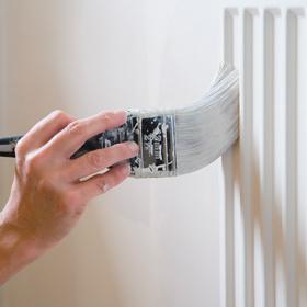 Stap voor stap een radiator schilderen