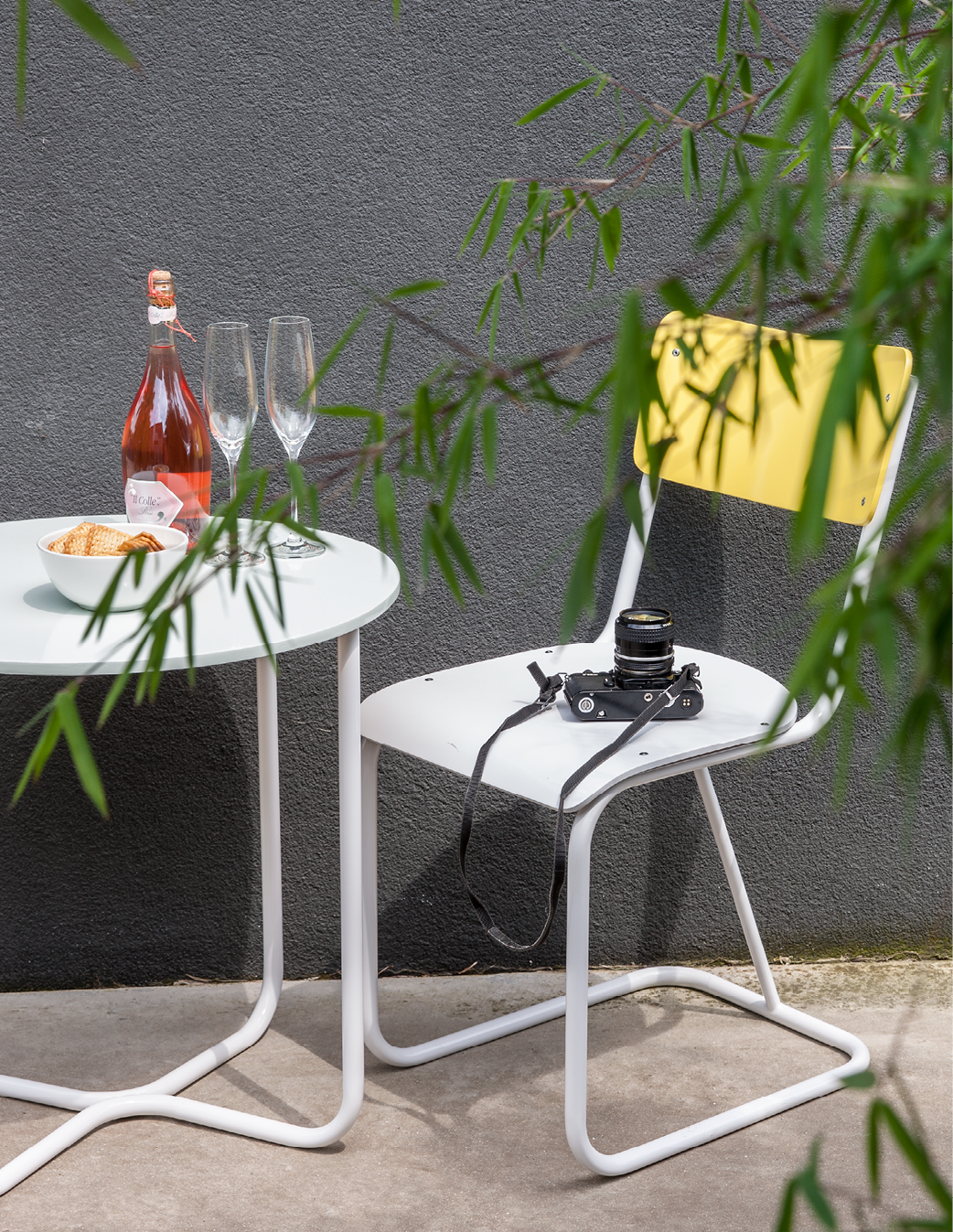 Peignez votre chaise ou table de jardin