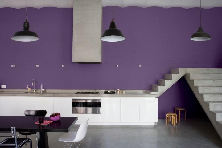 Blog je muur schilderen in een accentkleur for Schilderen moderne volwassen kamer