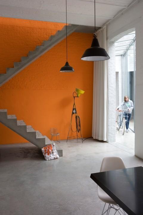 Blog je muur schilderen in een accentkleur - Witte muur kamer ...