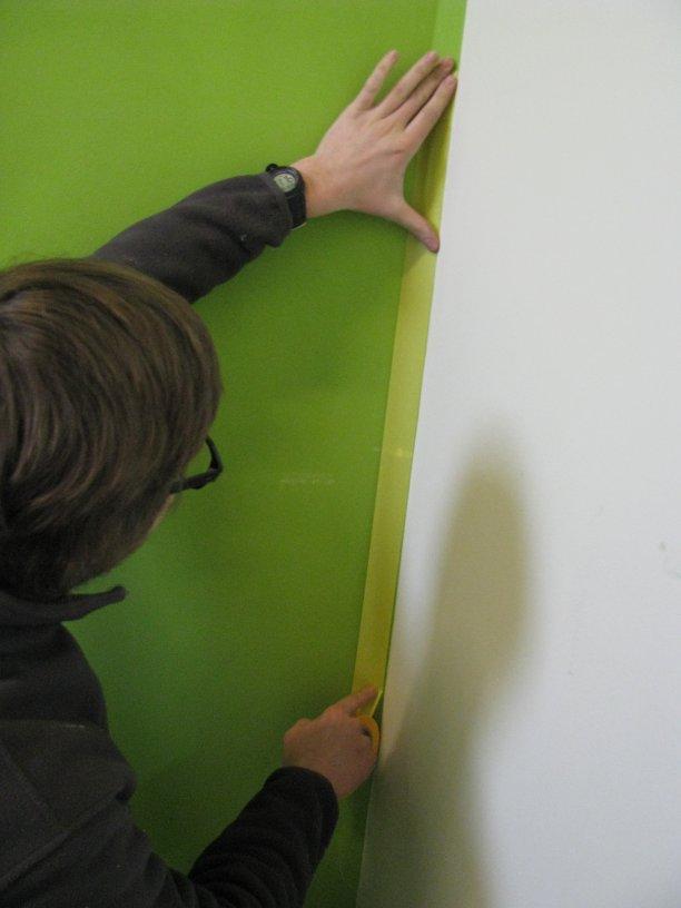 Kleuren schilderen: hoe een perfecte lijn aanhouden?