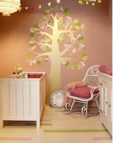 Blog de mooiste kleuren om de babykamer te verven - Verf babykamer ...