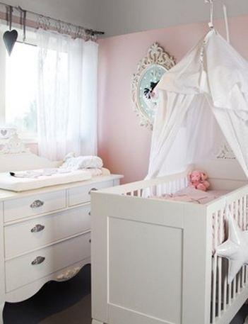 Babykamer oranje roze trend plus babykamer in met schommel babykamers inrichting slaapkamer - Verf babykamer ...