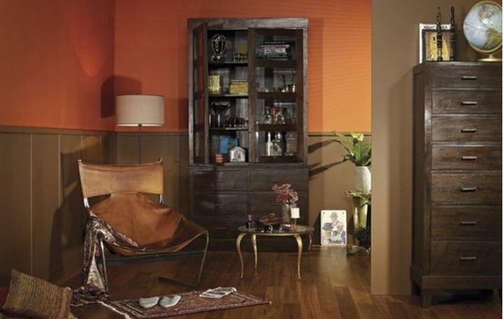 Psychologie des couleurs : la signification de la peinture orange