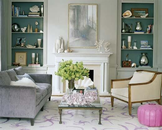 Vintage kleuren voor een trendy retro interieur
