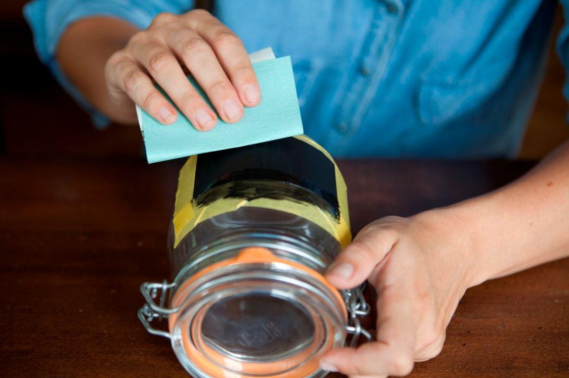 Een glas schilderen met bordverf: zo doe je dat!