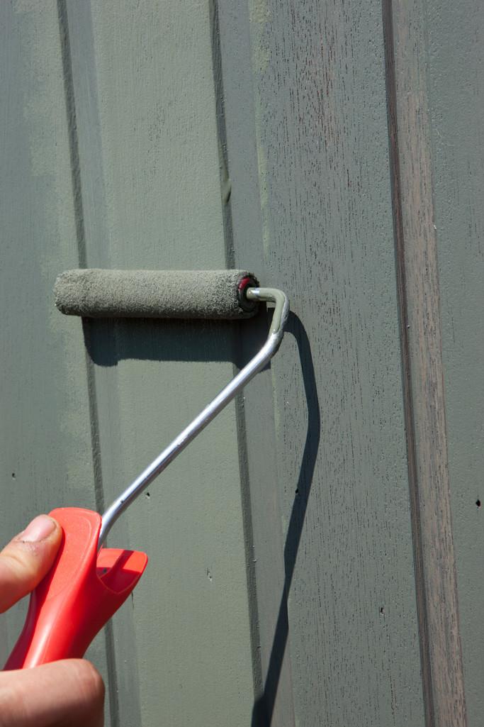 Houten ramen en deuren schilderen: verweerd hout