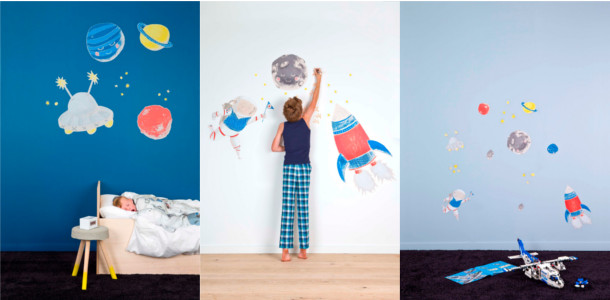 Trends Behangpapier Slaapkamer : Blog - Colora muurstickers: dé trend ...