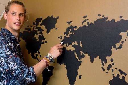 wereldsticker blackboard