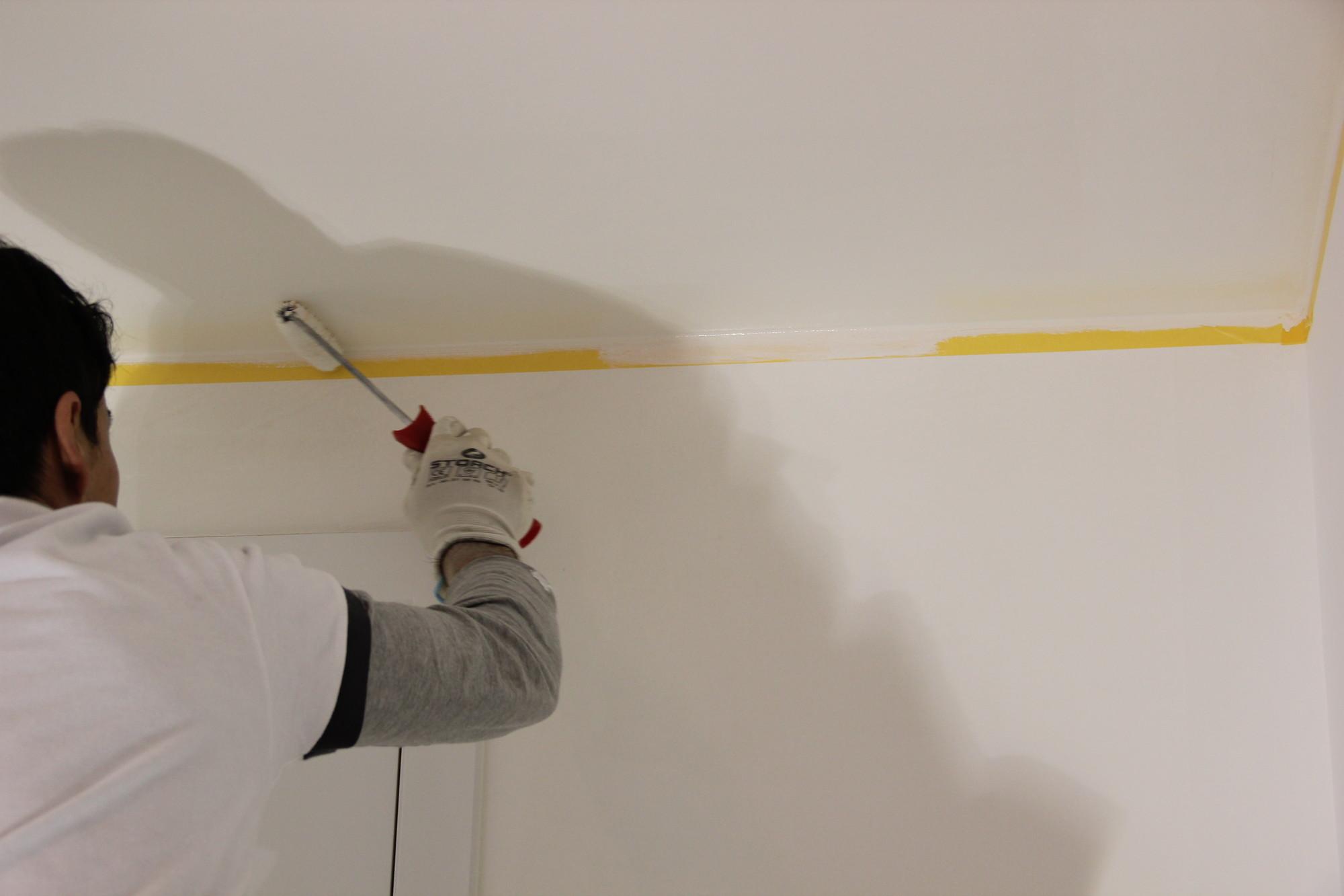 Blog hoe schilder je een plafond - Hoe te krijgen roze in verf ...