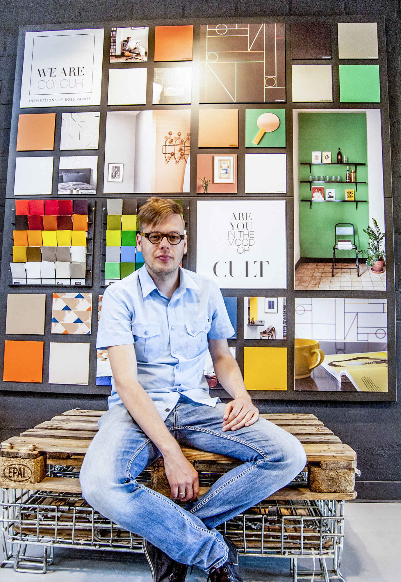 We Are Colour collectie - Woonsfeer Cult: David Boon