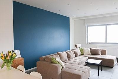 eindresultaat kleuradvies bij blogster Hanne - de woonkamer