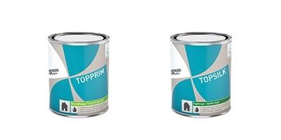 Topprim en Topsilk: milieuvriendelijke verf