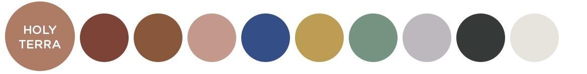 10 nieuwe trendkleuren voor 2019: een warm kleurenpalet om de rust te vinden in huis