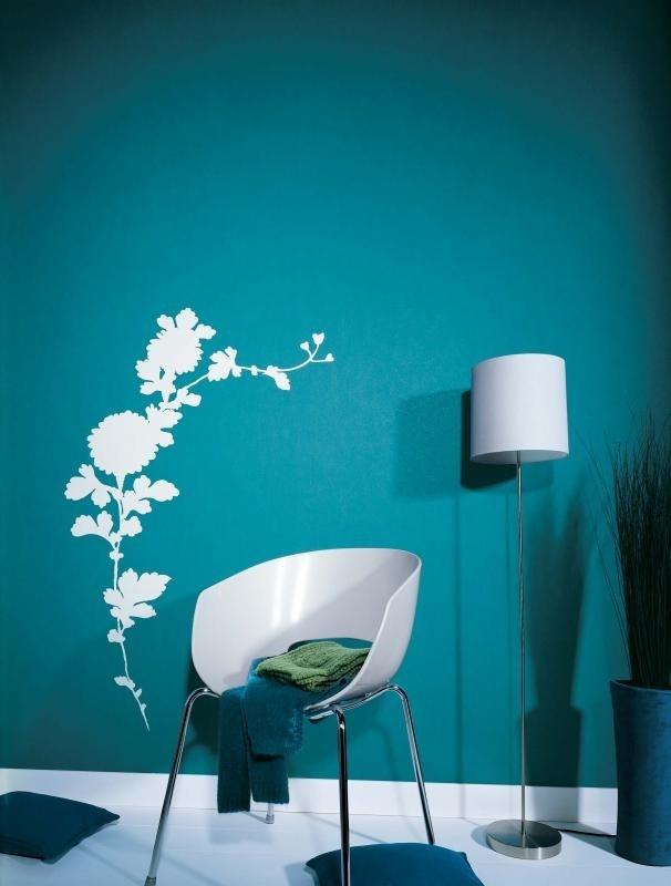 18 peinture cuisine bleu petrole toulouse - Mur bleu petrole ...