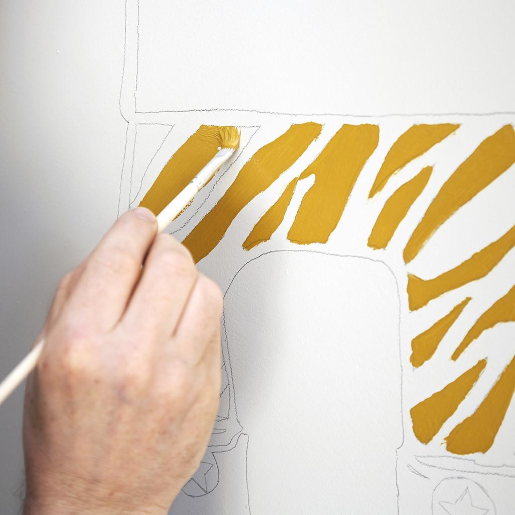 Blog id e d co chambre d enfant une peinture murale for Idee deco peinture murale nancy