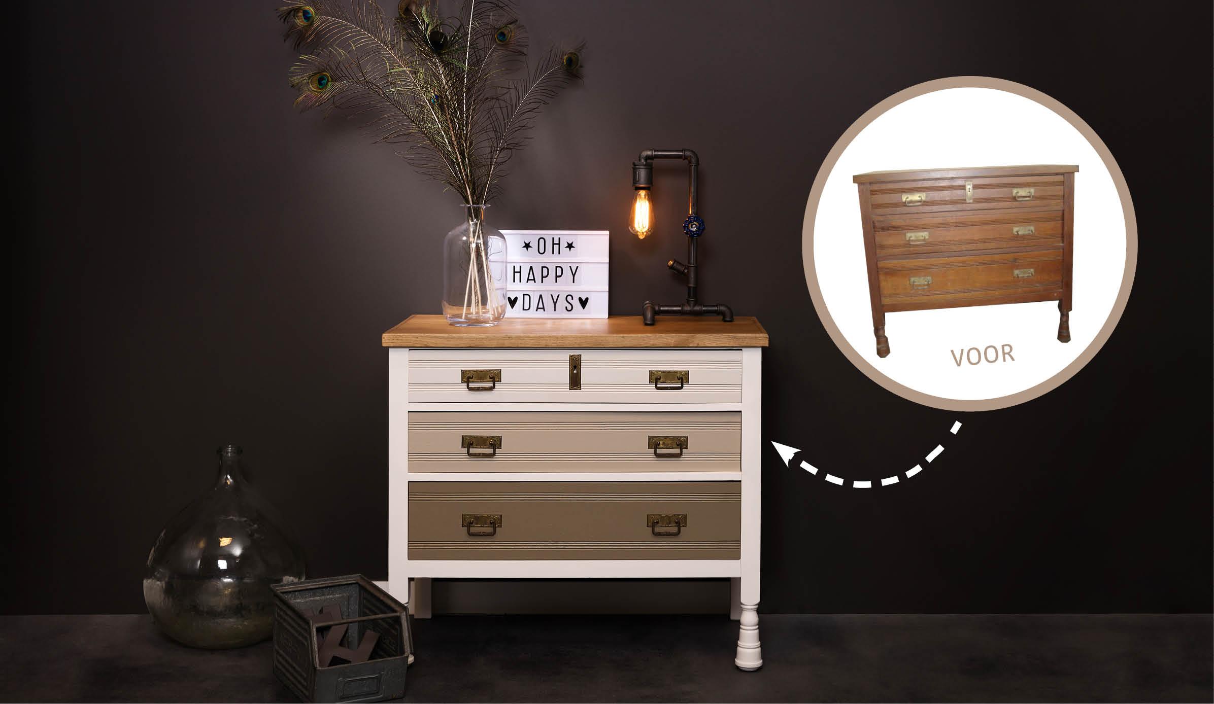 Donnez du style à votre mobilier - Industriel