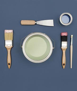 Vind in een colora verfwinkel specifieke verven voor jouw project