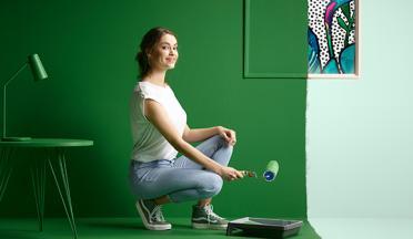 Ontdek online DIY artikels en videos om je project te schilderen op de website van colora