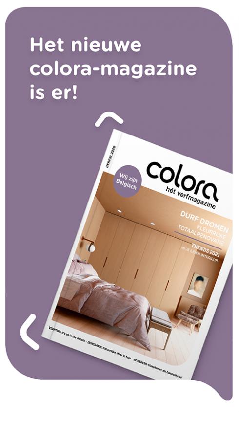 Het gloednieuwe colora magazine - herfst 2020