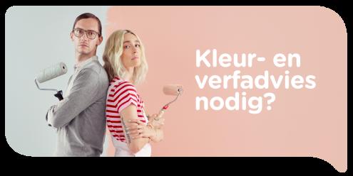 Profiteer nu van de kleuradviesactie bij colora tussen 13 september en 31 oktober 2021 en krijg je kleuradvies aan huis 100% terugbetaald