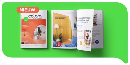 Haal wooninspiratie of kleur- en verftips uit het nieuwe herfstnummer van het colora magazine