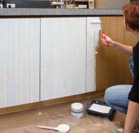 Doe het zelf: Keuken schilderen