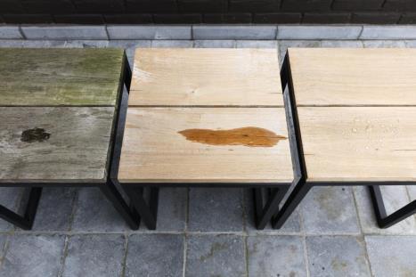 Hoe houten tuinmeubels beschermen?