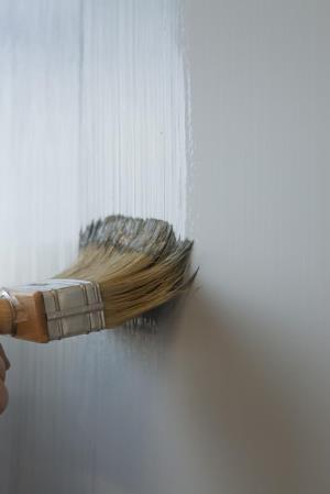 Hoe schilder je metallieke verf?'