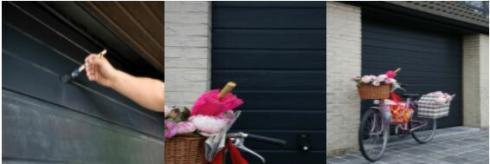 Hoe een garagepoort schilderen?