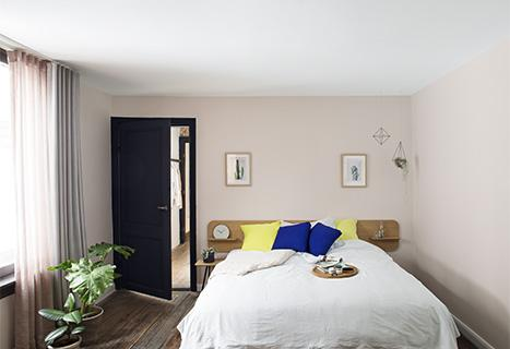 Slaapkamer verven