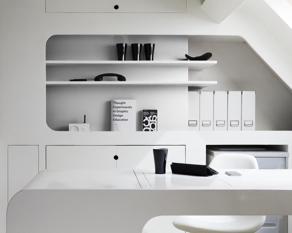 Je bureau wit schilderen