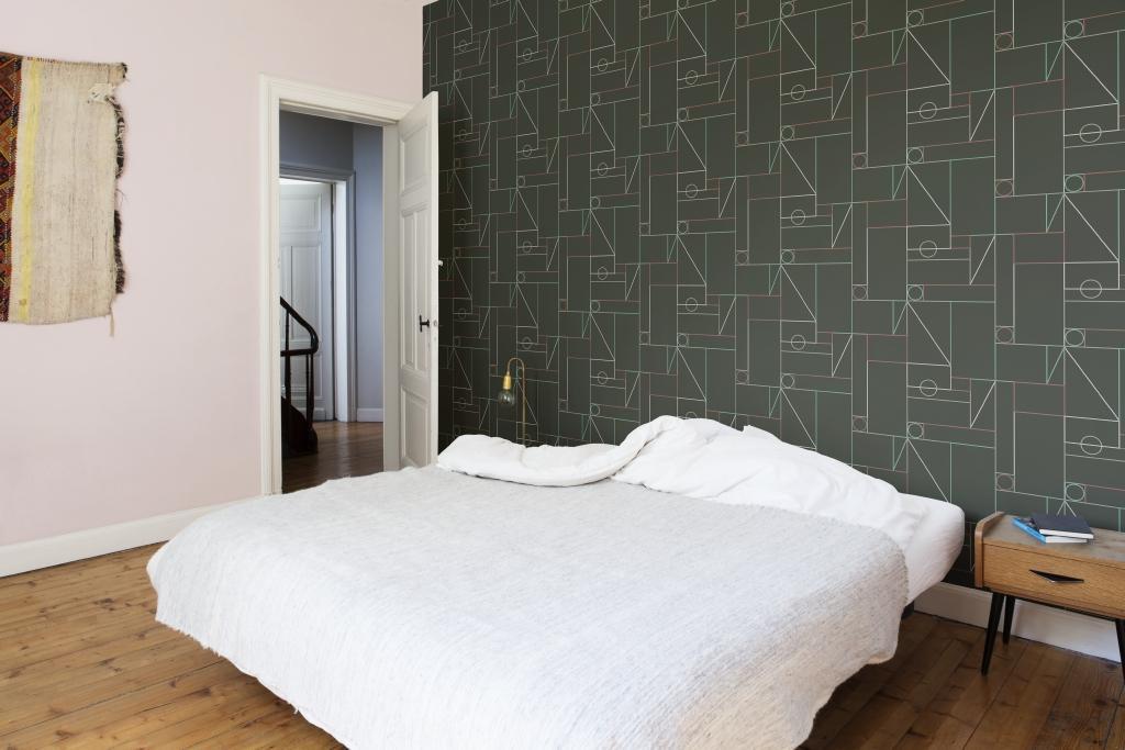 je slaapkamer behangen colorabe