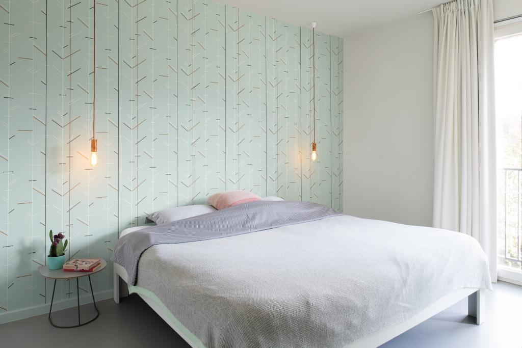 Design Behangpapier Slaapkamer : Behang je slaapkamer colora be