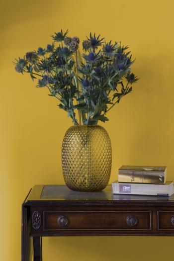 Schilder je muur geel