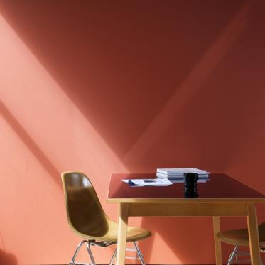 Schilder je muur rood