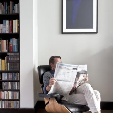 Schilder je woonkamermuur wit