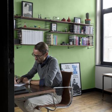 Schilder je bureau of werkkamer