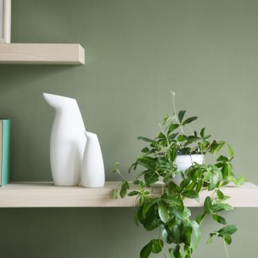 Schilder je muur groen