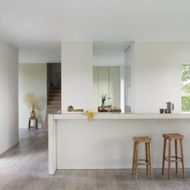 Schilder je keukenmuren wit
